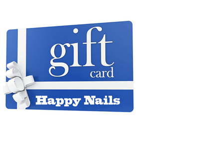 blue Gift Card by Happy Nails Of Yakima